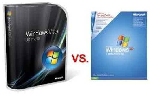پاورپوینت مقایسه سرویس های امنیتی ویندوز Xp و Vista